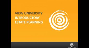 Welcome - introductory estate planning