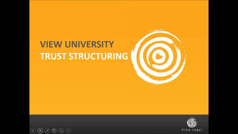 Trust Structuring