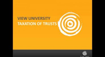 Welcome - taxation of trusts